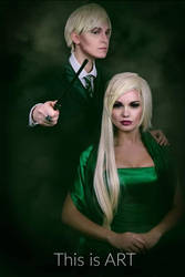 Narcisa and young Draco Malfoy: bound by blood