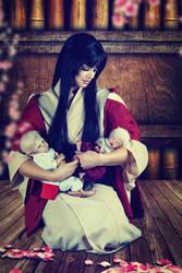 Izayoi and the Taisho- princes