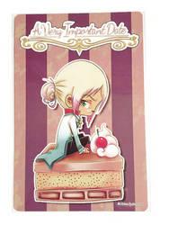 [6x9 Dessert Print] A Very Important Date - Emil