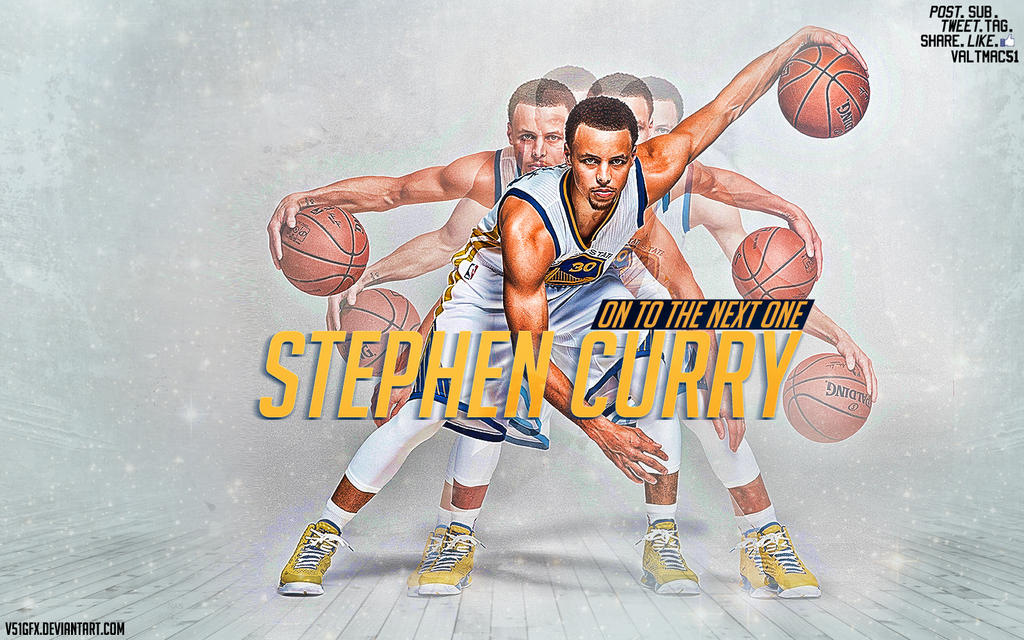 [V51] Stephen Curry - On To The Next One by V51GFX on ...