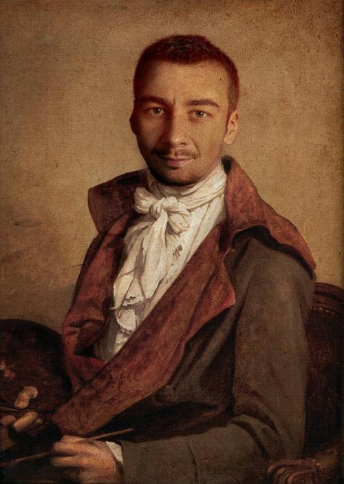 Renaissance selfportrait by Krzyho