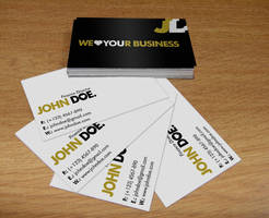 Business Card VI by Krzyho