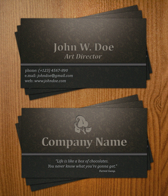 Business Card VII by Krzyho