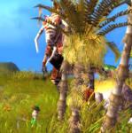 Tyrannosaurus Go Chomp by WorldSerpent