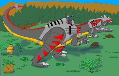 Dino Riders Giganotosaurus