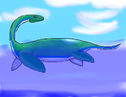 Plesiosaur by WorldSerpent