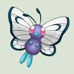 012 Butterfree by VulpineFlame
