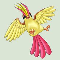 018 Pidgeot by VulpineFlame