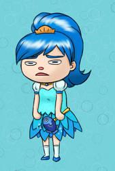ACNH: Magical Fish Girl!