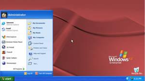 Windows XP Enterprise (With Start Menu)