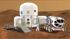 MMD Mars Base