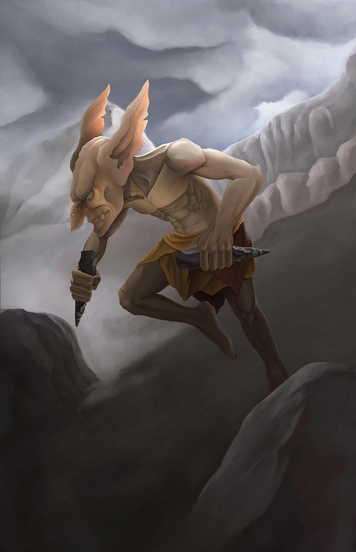 goblin1DA by Ivan-Garcia