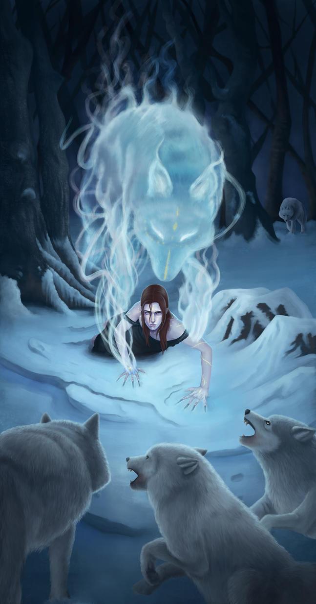 wolf familiar by Ivan-Garcia