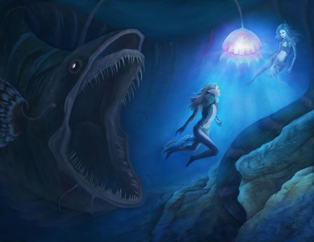 deceived merfolks by Ivan-Garcia