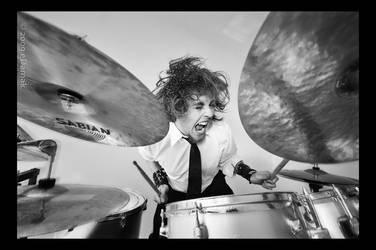 Drummer by eDamak