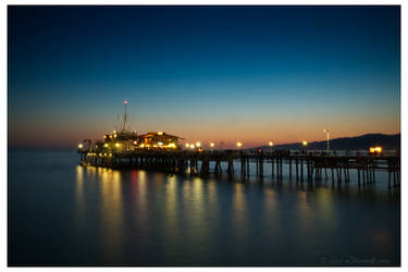 Santa Monica Pier by eDamak