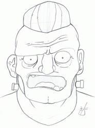 Frankie Sketch by LeAcme