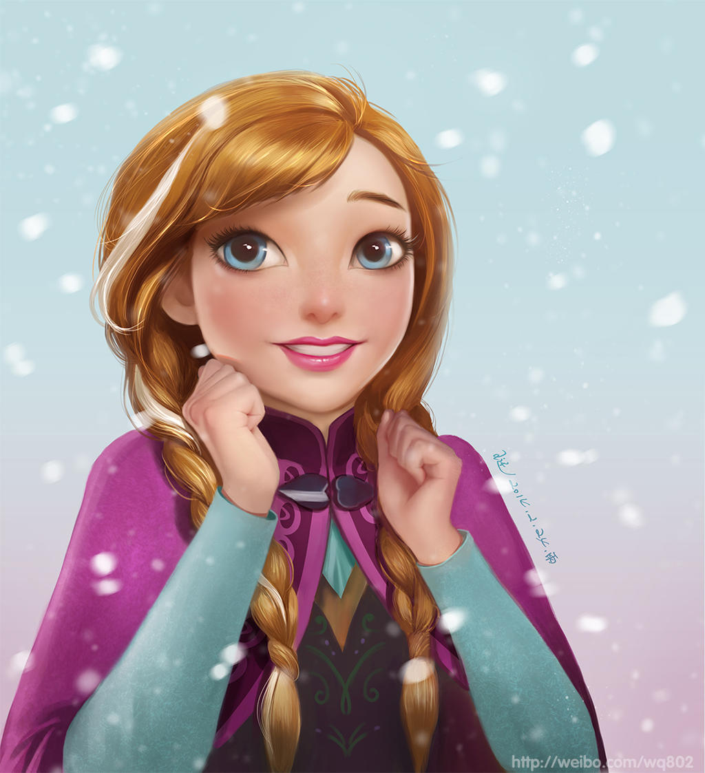Face Painting Frozen Characters