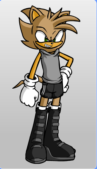 Tyson Kidd as a SOnic Chara by Gurahk2