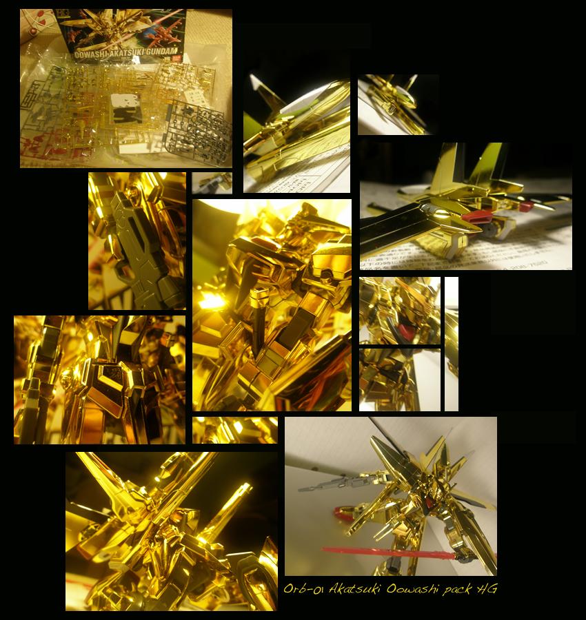 Orb-01 Akatsuki Oowashi HG by Andou-Mahoro