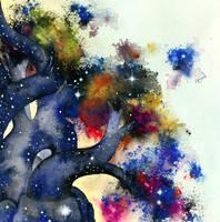 The Expanding Universe. by firestarter1988