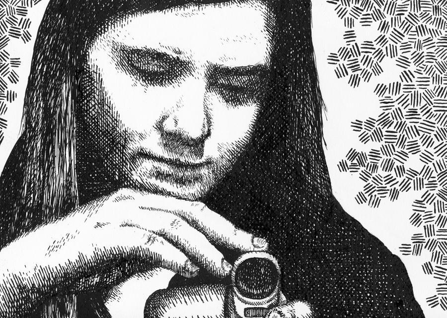 Self Portrait by firestarter1988