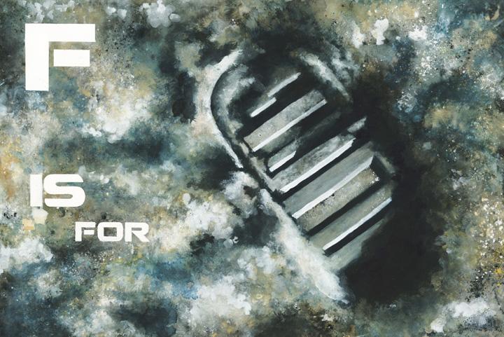 F is for Footprint by firestarter1988
