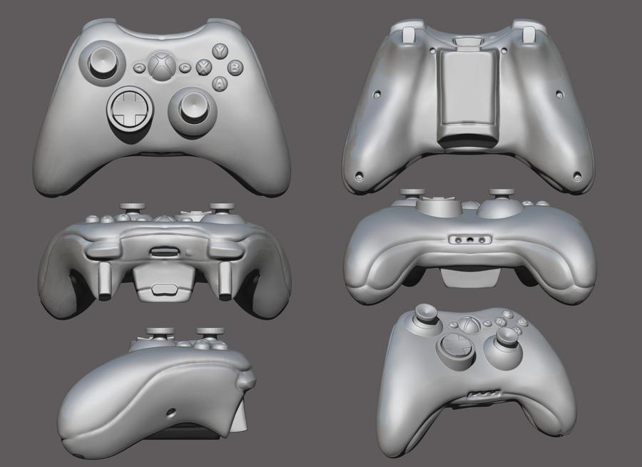 xbox 360 controller sketch - photo #13