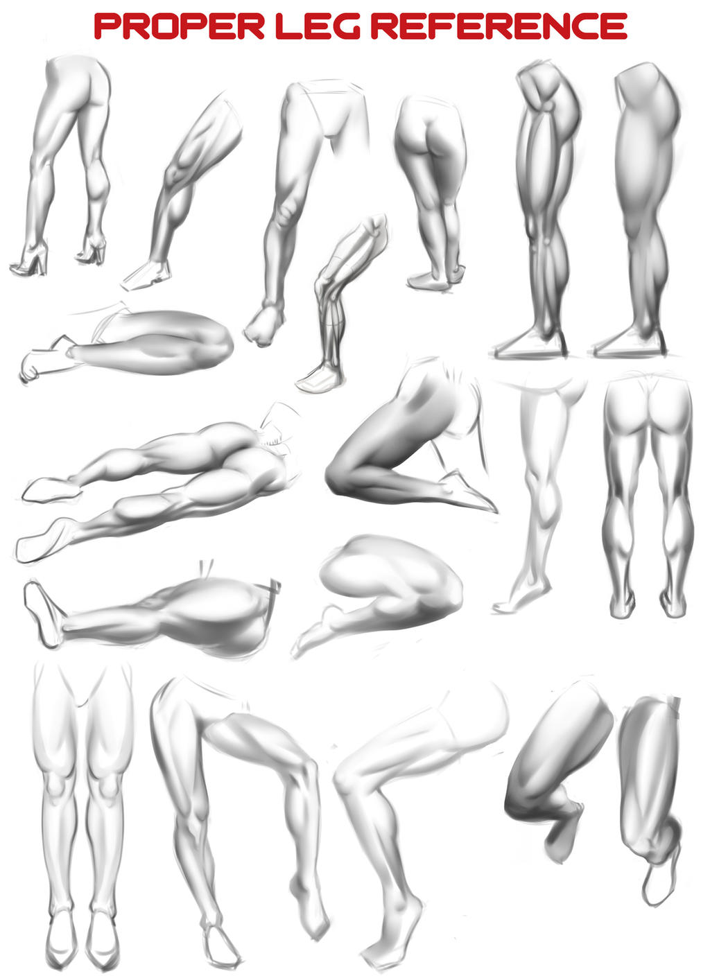 Proper Leg Reference by N3M0S1S