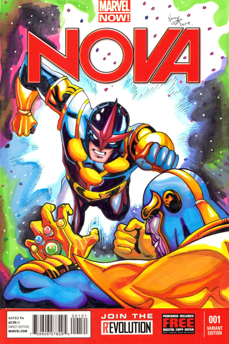 Nova Cover (front) by N3M0S1S