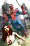 Keeping Up With the Parkers: Peter and Mary Jane. by Nova-MadArt