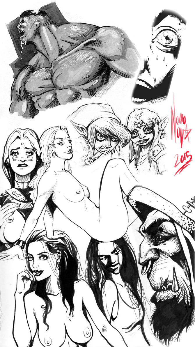 Sketch Dump 10 by NemoNova