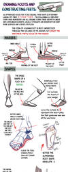 Drawing Foots and Constructing Feets by NemoNova