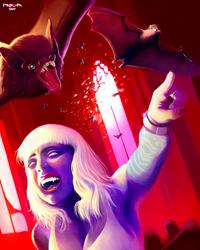 Vampire Bats and Vampire Ladies