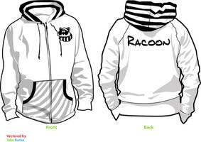 RACOON-Hoodie-Design. by mondscheinsonate
