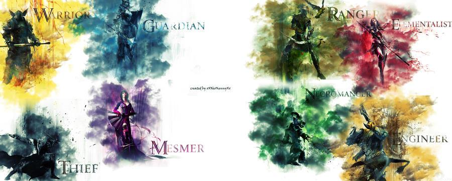 Guild Wars2 (all classes) by xXNeoKennyXx on DeviantArt