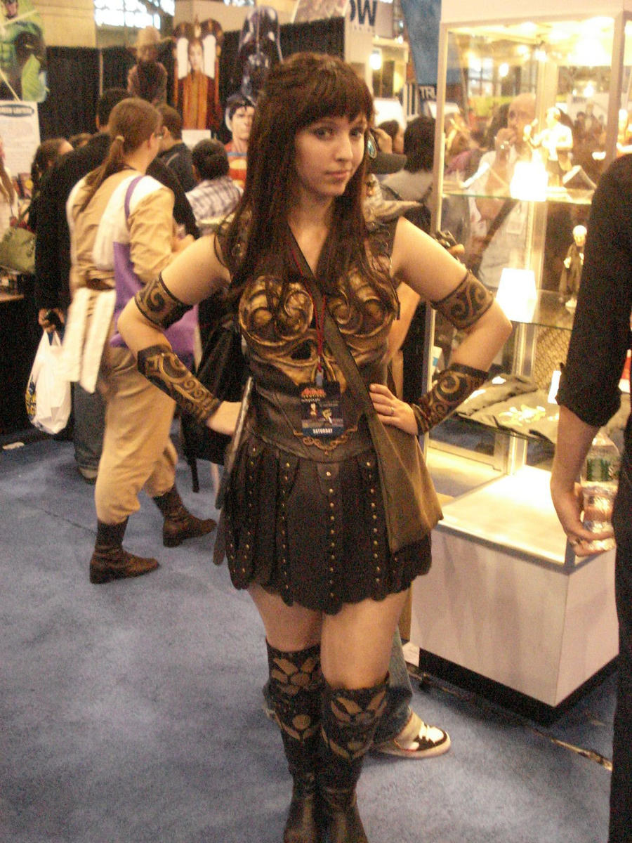 Xena warrior princess costume by brassivydesign on deviantart xena costume by brassivydesign solutioingenieria Gallery