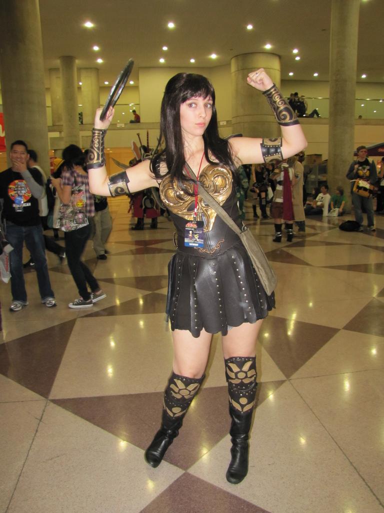 Xena at NYC Comic Con ...