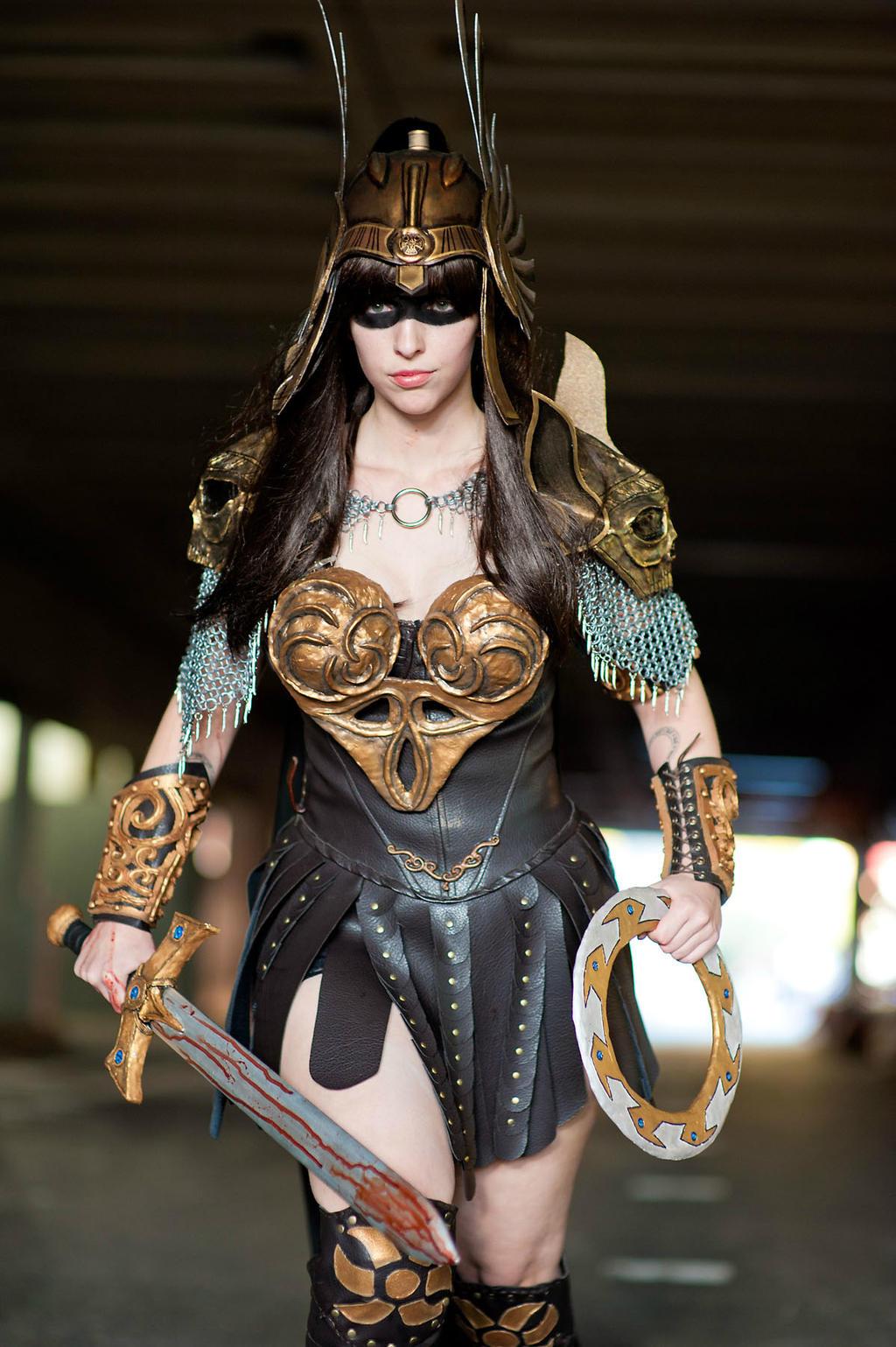 cosplay Sexy warrior