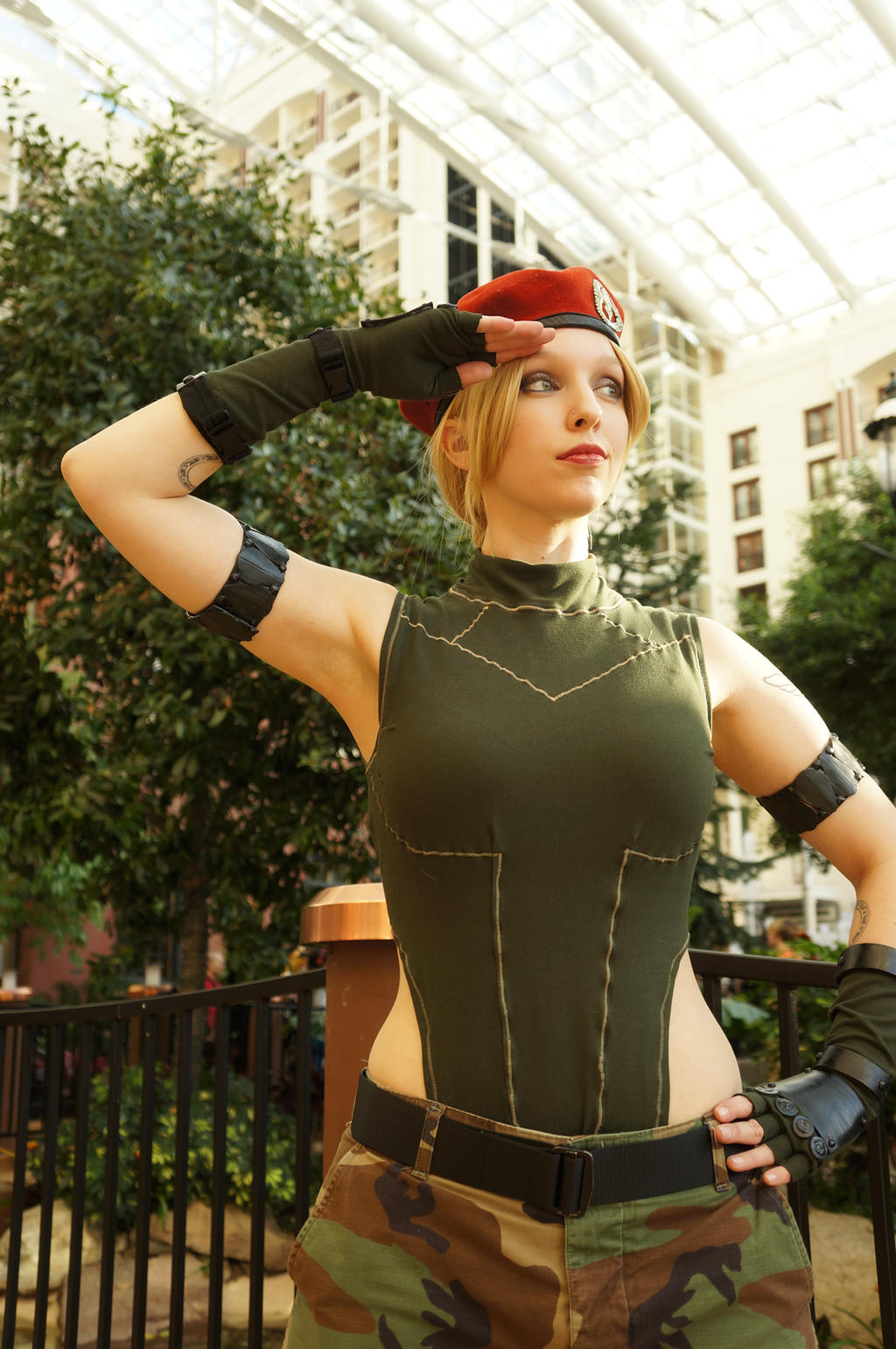 Street Fighter X Cammy by BrassIvyDesign