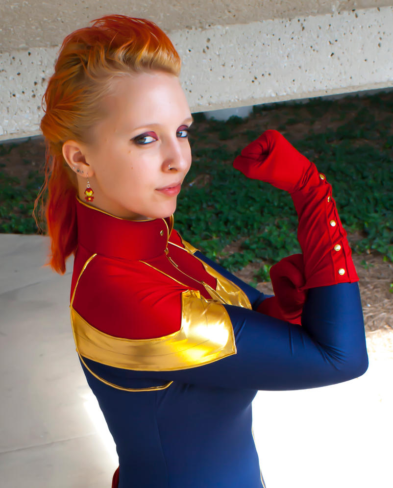 Captain Marvel by BrassIvyDesign