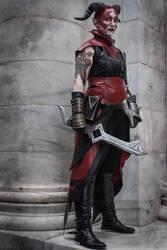 Qunari Inquisitor Cosplay