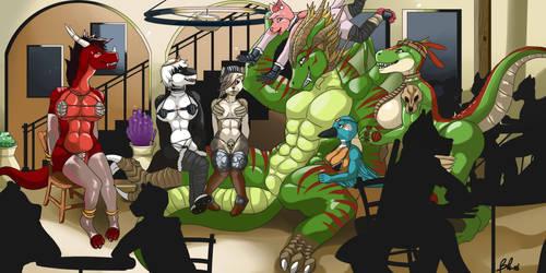 Dragon's harem by Mate397