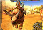 Triceratops transportowy by Liraelwolf