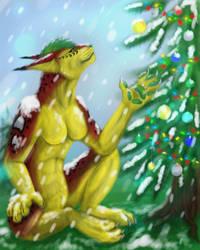 Secret Santa by Liraelwolf