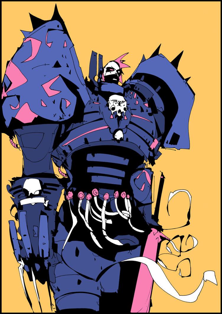 Conrad Kurze 'Night Haunter' by DarkMechanic