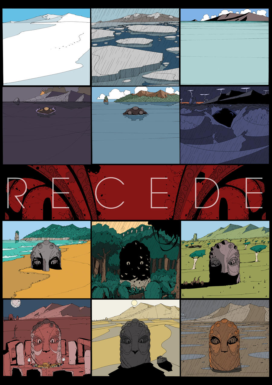 R E C E D E by DarkMechanic