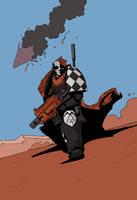 Death Spectre Scout by DarkMechanic