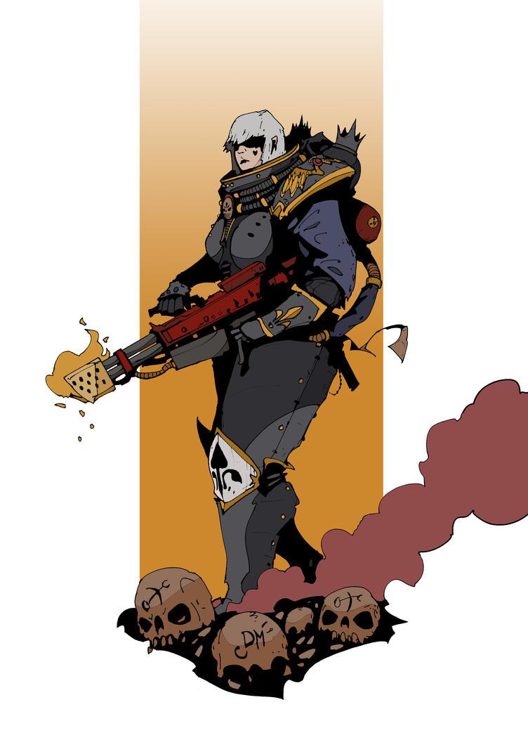 Battle Sister by DarkMechanic
