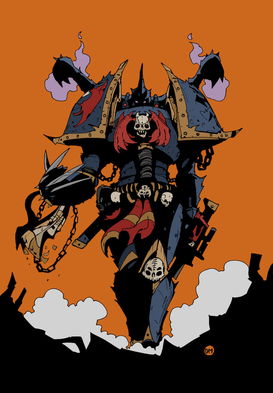 Night Lord by DarkMechanic